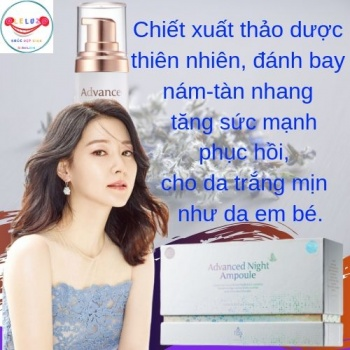 Trị Nám - Tàn Nhang Guboncho Advanced Night Ampoule